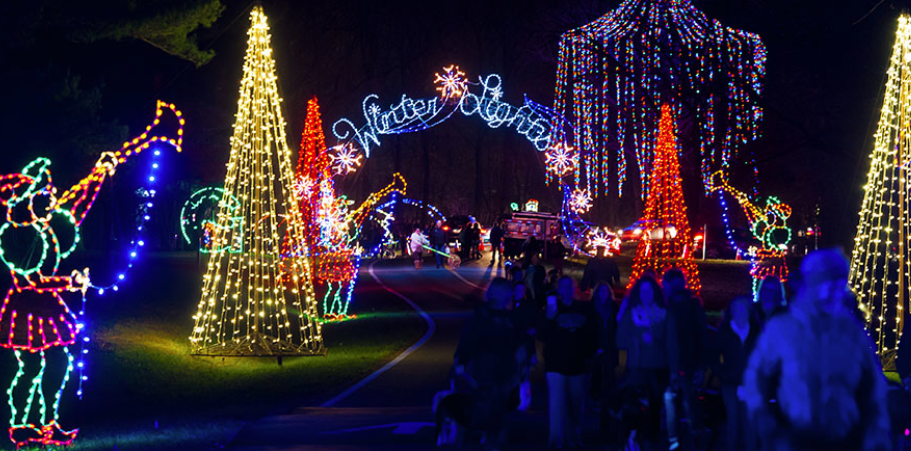 Winter Lights at Seneca Creek State Park