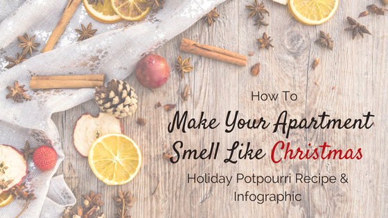 How to make your apartment smell like Christmas