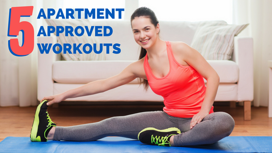 5 apartment approved workouts