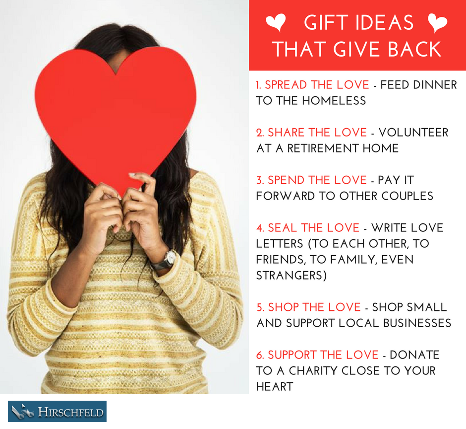 gift ideas that give back