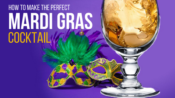 how to make the perfect mardi gras cocktail