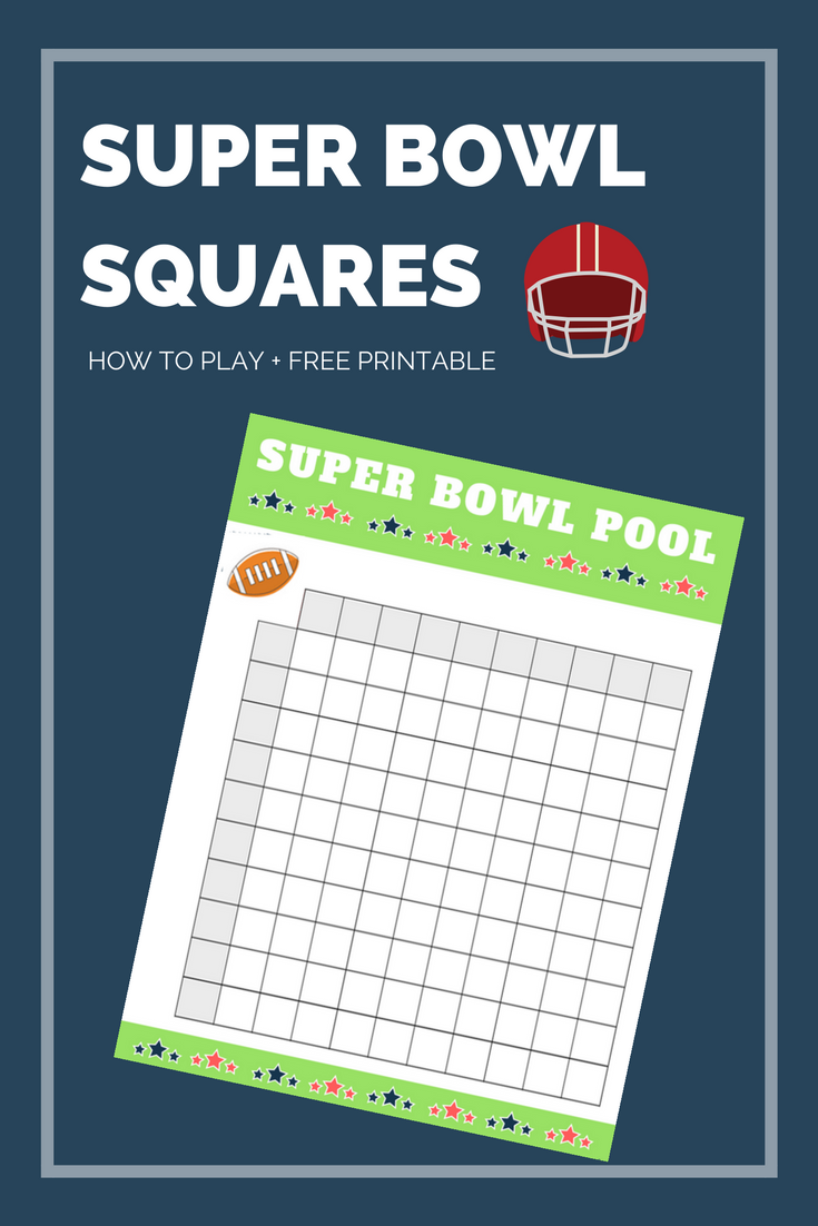 graphic relating to Printable Superbowl Pool Squares referred to as Tremendous Bowl Squares Printable Hirschfeld Flats within MD