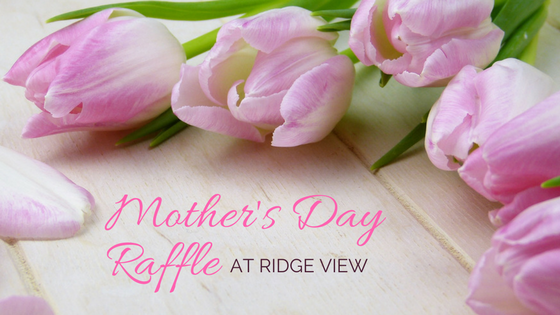mother's day raffle at ridge view