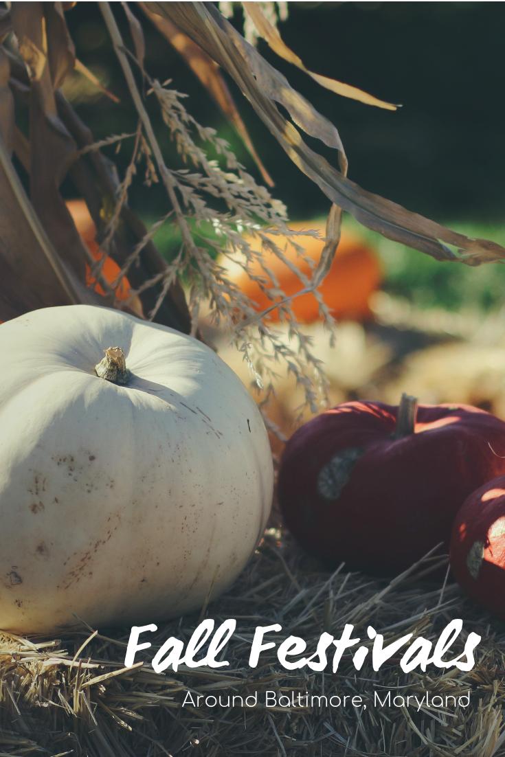 Fall Festivals around Baltimore, Maryland