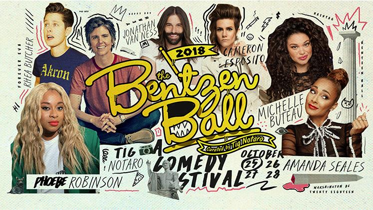 bentzen ball comedy festival washington dc