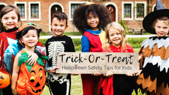 trick or treat halloween safety tips for kids