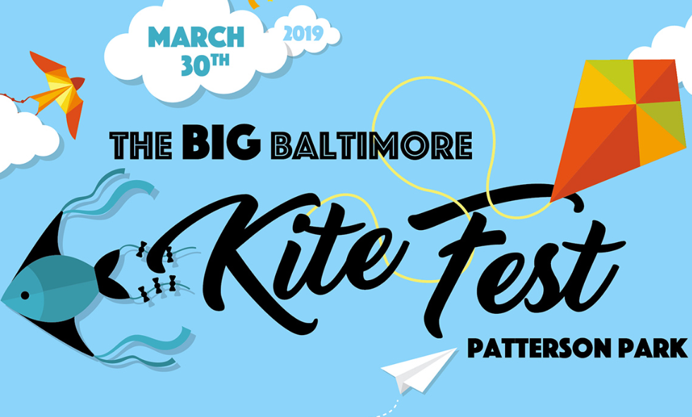 March 30, 2019, the big Baltimore kite fest Patterson park