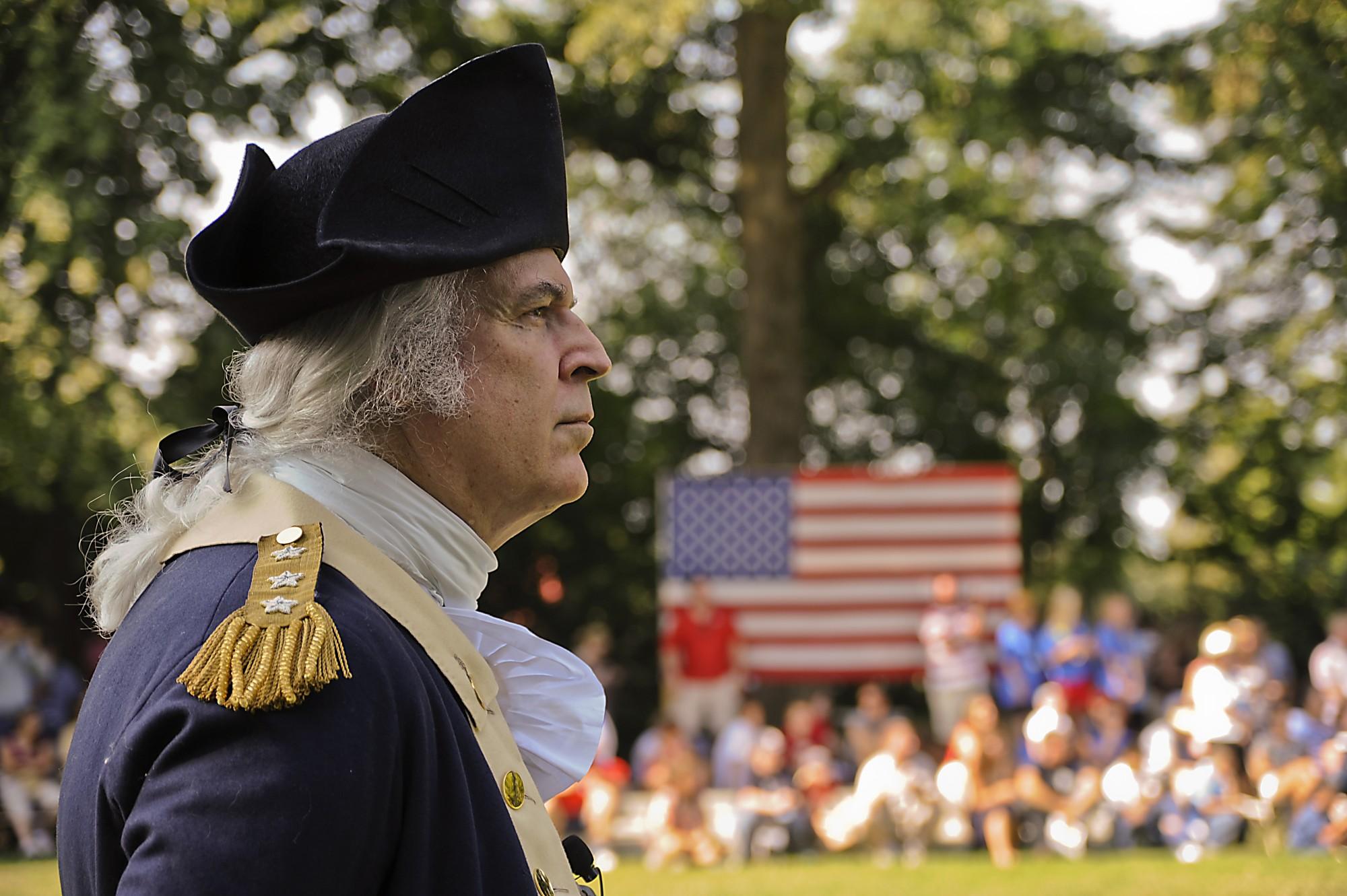 george washington mount vernon fourth of july celebration